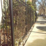 Project Highlight:  Iron Fence and Deck Facelift